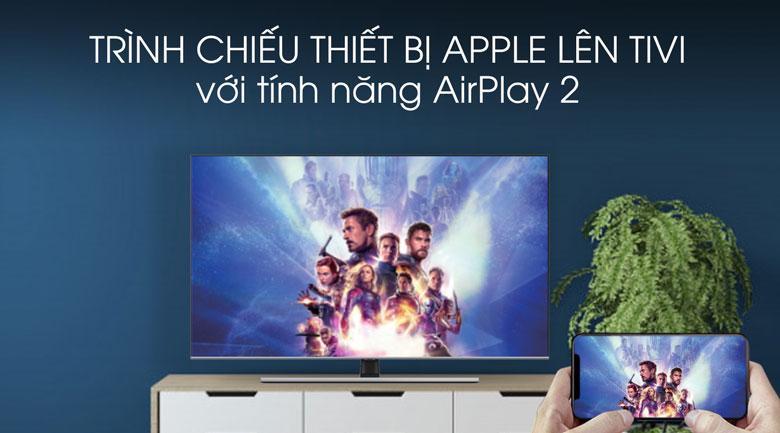 Tivi QLED Samsung QA75Q70T cho phép bạn chiếu màn hình điện thoại lên TV