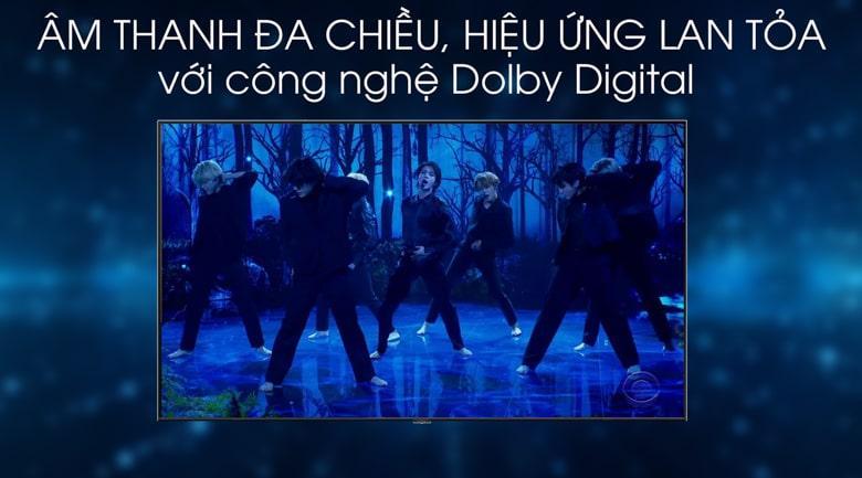 Âm thanh Dolby Digital cho hiệu ứng lan tỏa và đa chiều