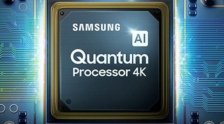 Bộ xử lý Quantum Processor 4K tích hợp trí thông minh nhân tạo AI cho hình ảnh hoàn hảo