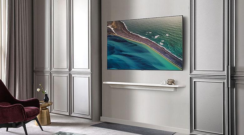 Tivi QLED Samsung QA75Q80T là thiết bị nội thất thực sự