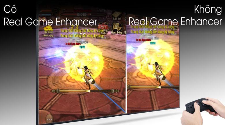Công nghệ Real Game Enhancer+ trên chiếc tivi Samsung QA75Q80T