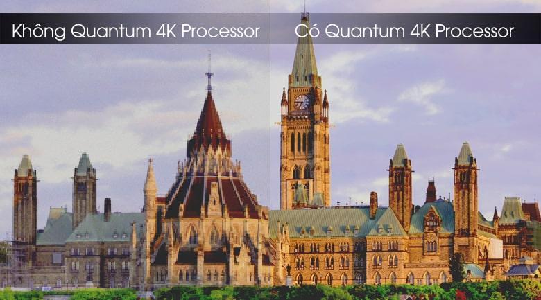 Trí tuệ nhân tạo AI được tích hợp trên bộ xử lýQuantum 4K Processor