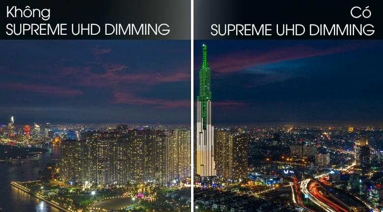 Tivi QA85Q70T được công nghệ Supreme UHD Dimming nâng cao khả năng hiển thị màu