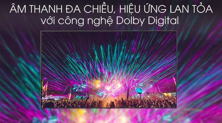 Công nghệ Dolby Digital trên chiếc QA85Q70T cho âm thanh mạnh mẽ và sống động