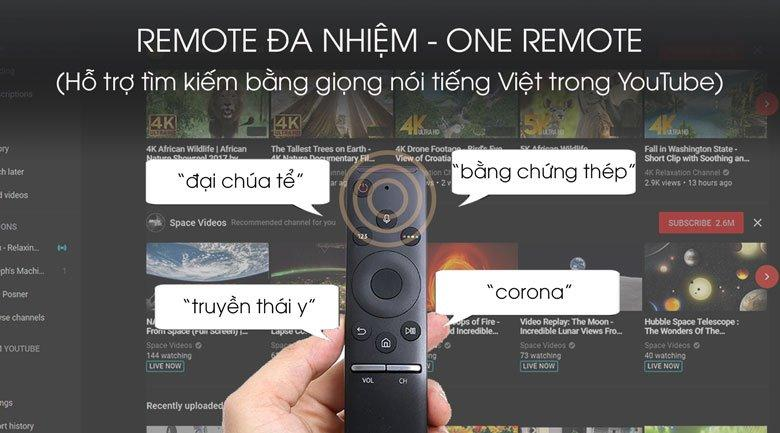 Remote đa nhiệm - One Remote đẹp