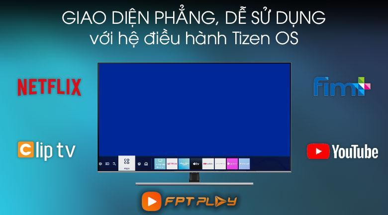 Tivi 55Q70T 55 inch cho phép bạn truy cập moi ứng dụng nhanh và dễ