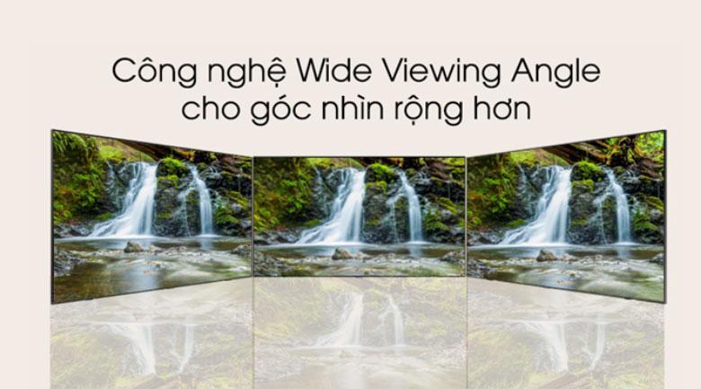 Tivi QLED Samsung QA55Q70T cho góc nhìn tuyệt đối vớiWide Viewing Angle