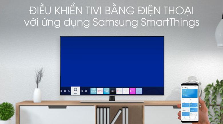 Tiện lợi với tiện ích điều khiển tivi bằng điện thoại tiện lợi với SmartThings
