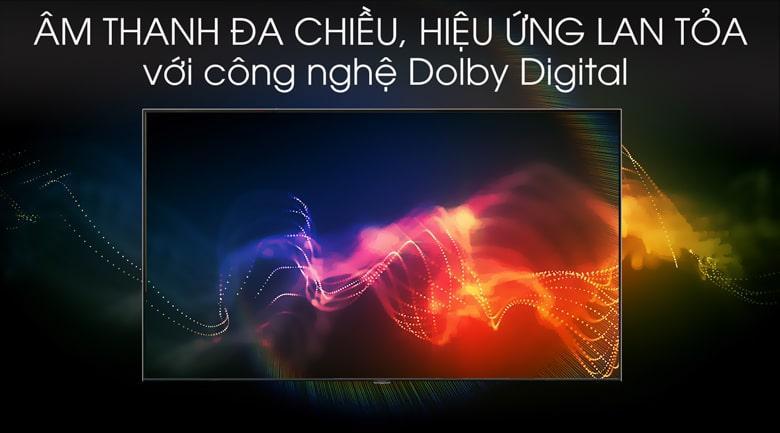 TV QA55Q70T cho Âm thanh vang đầy mạnh mẽ với công nghệ Dolby Digital