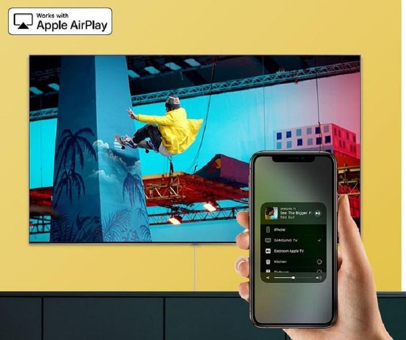 Kết được với AirPlay 2 hết sức đơn giản