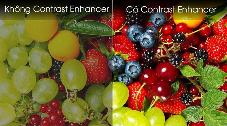 Công nghệ Contrast Enhancer tăng cường hơn chiều sâu khung hình