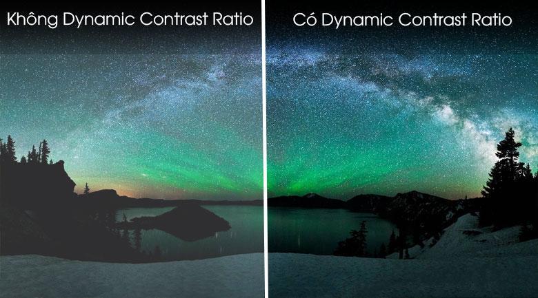 Công nghệ Dynamic Contrast Ratio cho khung hình tối có chiều sâu hơn