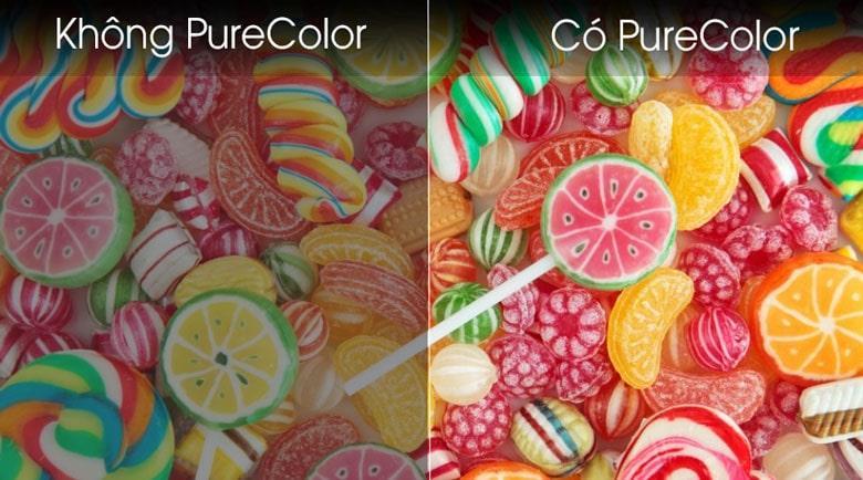 Tivi Samsung UA43T6500 hiển thị màu sắc rộng