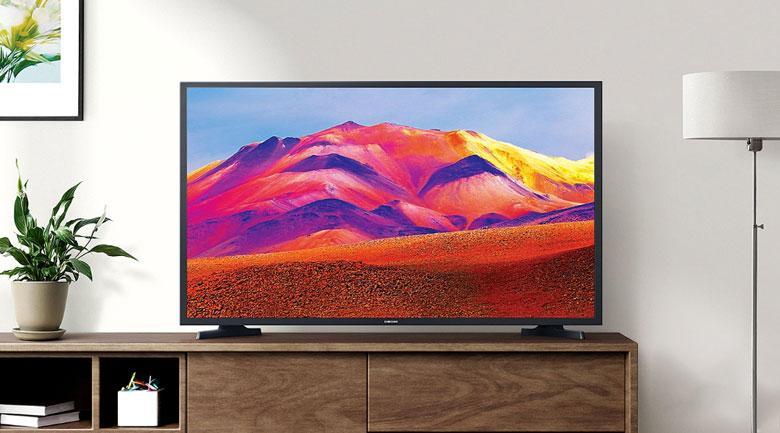 Tivi Samsung UA43T6500 trang nhã với độ mỏng tối ưu