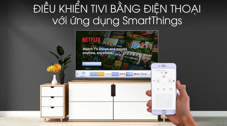 Tivi 43T6500 cho phép bạn điều khiển tivi qua điện thoại