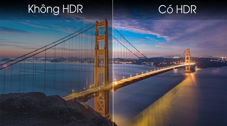 Công nghệ HDR mang đến độ sâu màn hình hơn