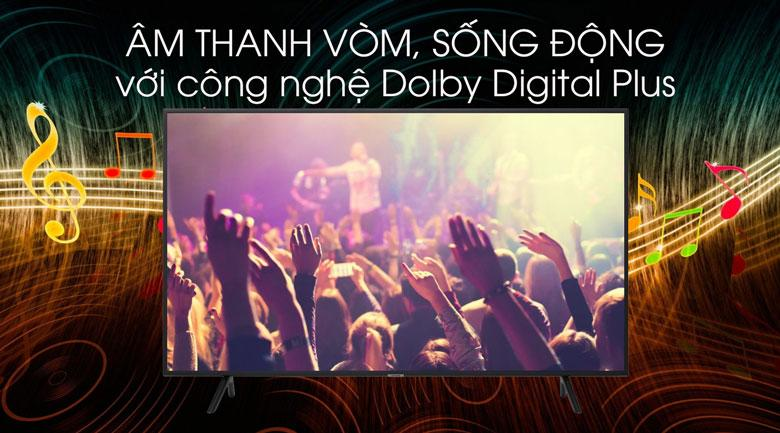 Tivi UA43T6500 cho âm thanh trong trẻo hơn với công nghệ Dolby Digital Plus