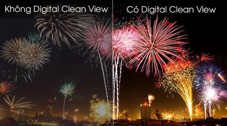 Công nghệ Digital Clean View cho độ nét, độ sáng được tăng cường