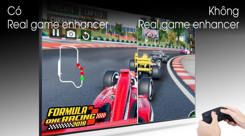 Tivi Samsung UA50TU7000 giúp bạn chơi game mượt mà