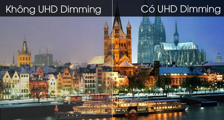 công nghệ UHD Dimming tái hiện những khung hình có chiều sâu hơn