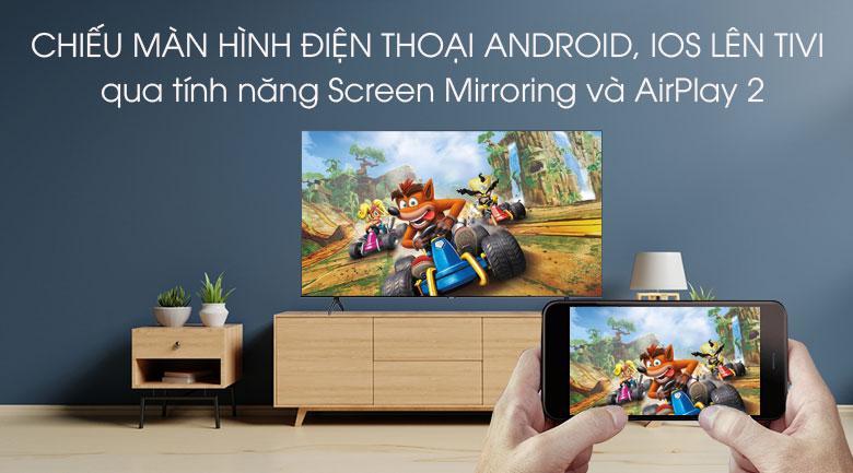 Chiếu màn hình điện thoại Android và IOS