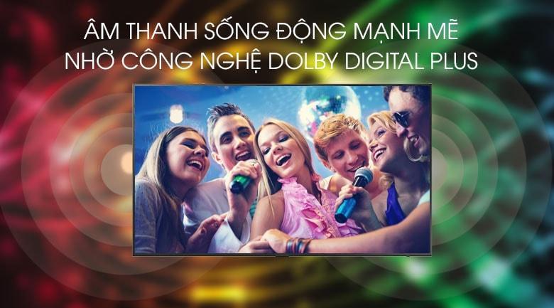 Dolby Digital Plus cho âm thanh mạnh mẽ