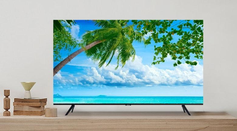 Tivi Samsung UA50TU8100 mang đến chiếc màn hình không viền