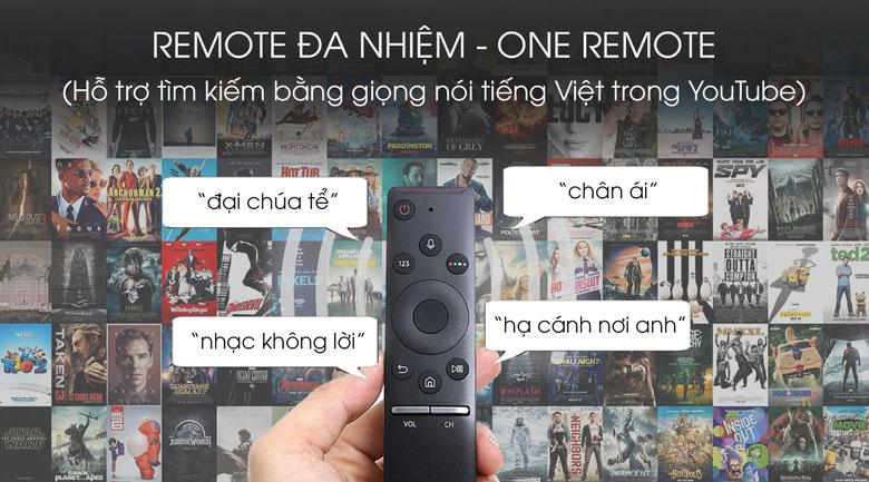 One Remote tìm kiếm bằng giọng nói