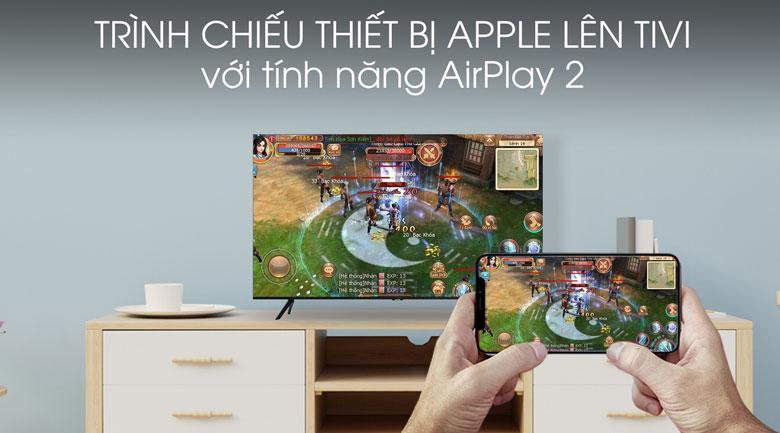 chiếu màn hình thiết bị Apple lên tivi