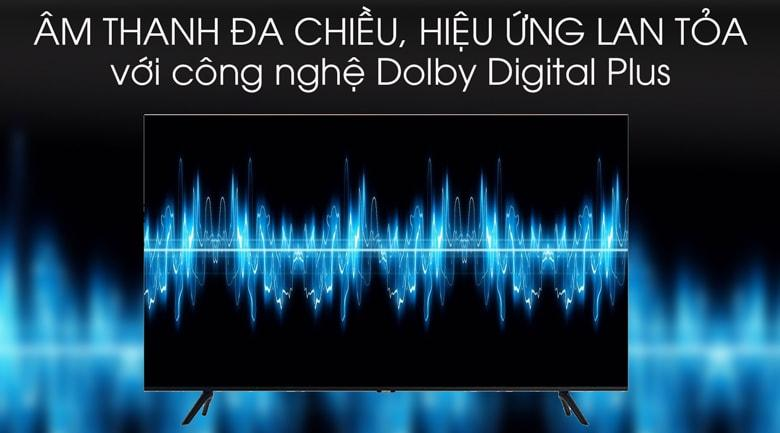 Tivi Samsung UA50TU8100 mang đến âm thanh bùng nổ