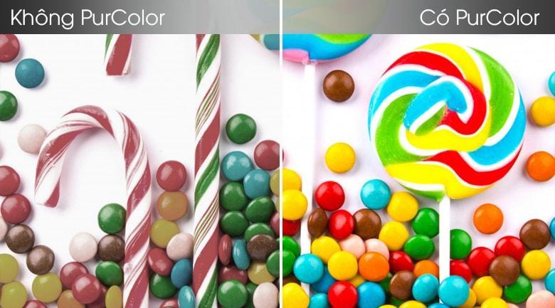 Dải màu sắc sẽ được tăng cường mạnh mẽ nhờ PurColor
