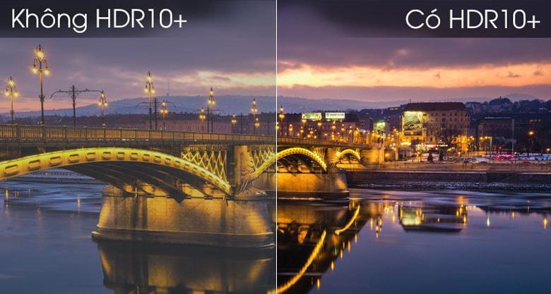 Công nghệ HDR10+ giúp bạn tận hưởng hình ảnh chi tiết