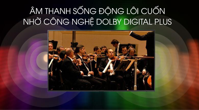 Công nghệ Dolby Digital Plus cho âm thanh sống động