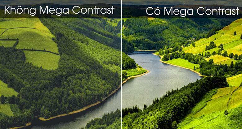 Sở hữu công nghệ Mega Contrast