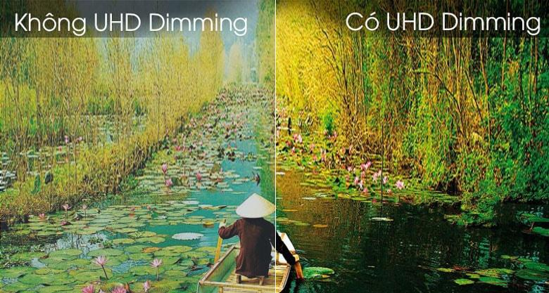 Mang đến công nghệ UHD Dimming