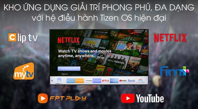 Tivi Samsung UA55TU7000 trang bị kho ứng dụng rất phong phú