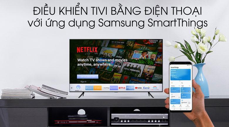 SmartThings giúp bạn điều khiển tivi bằng điện thoại dễ dàng