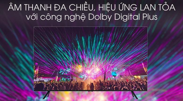 công nghệ Dolby Digital Plus cho âm thanh đa chiều, lan tỏa