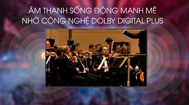 công nghệ Dolby Digital Plus giả lập âm thanh vòm