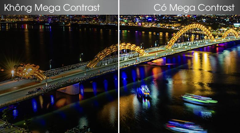 Công nghệ Mega Contrast cho sắc đen sâu hơn