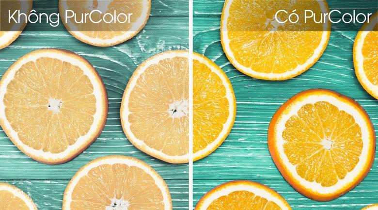 Công nghệ PurColor cho màu sắc phong phú hơn