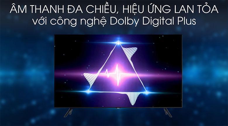 Tivi Samsung UA75TU8100 vớicông nghệ Dolby Digital Plus