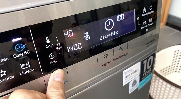 Công nghệ Ultramix trên máy giặt electrolux