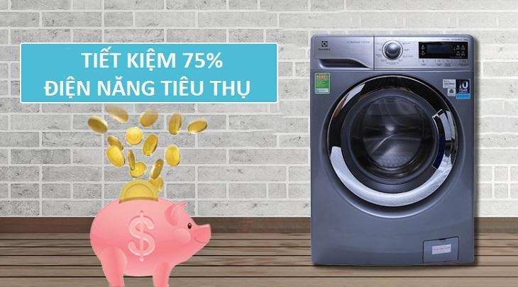 Tiết kiệm bột giặt và điện năng