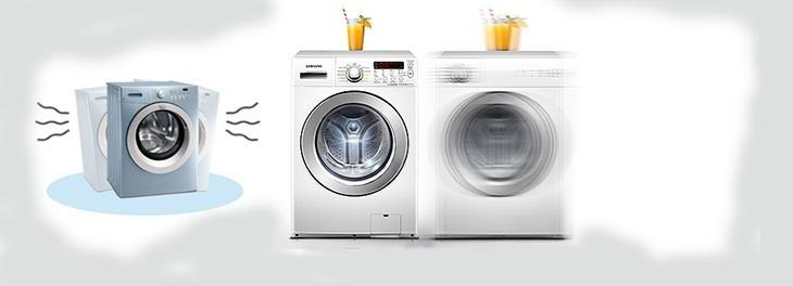 Máy giặt rung rất mạnh và kêu to