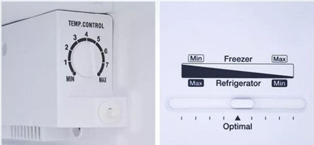 Nút điều chỉnh nhiệt độ có bị sai lệch không