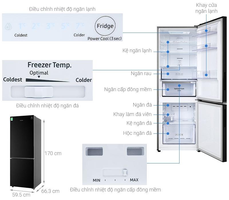 Tổng quan Tủ lạnh Samsung RB30N4010BU/SV