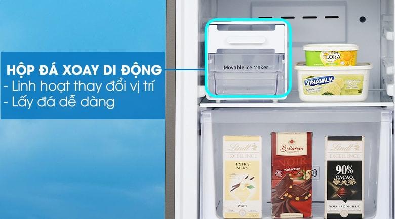 Tủ lạnh Samsung RB30N4170BU/SV có hộp đá di động tiện lợi
