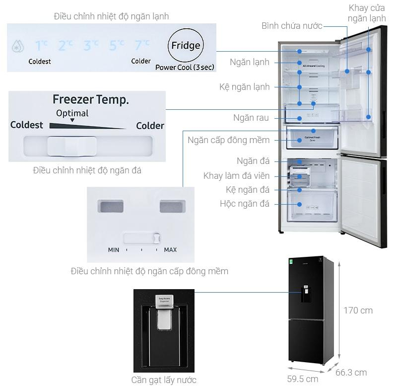 Tổng quan về Tủ lạnh Samsung RB30N4170BU/SV
