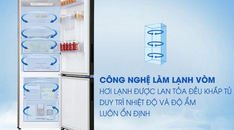 Tủ lạnh Samsung RB30N4170BY/SV làm lạnh thực phẩm toàn diện
